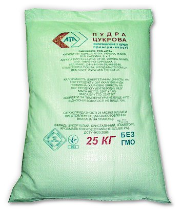 Buy Icing sugar of weight 25 kg, bag
