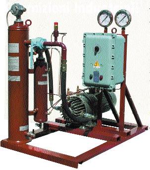 Копрессорный агрегат для сжиженного газа