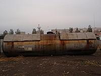 Цистерна объем — 46 куб. м для сжиженного газа