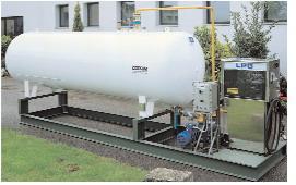 Газовая заправка АГЗС для пропан-бутана