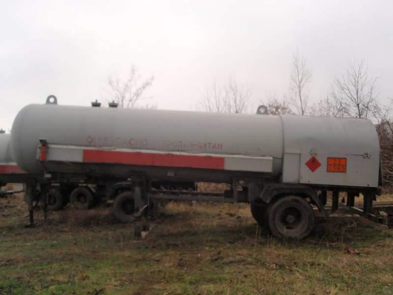 Цистерна для перевозки пропан-бутана объемом 12,5 куб. м. ППЦЗ