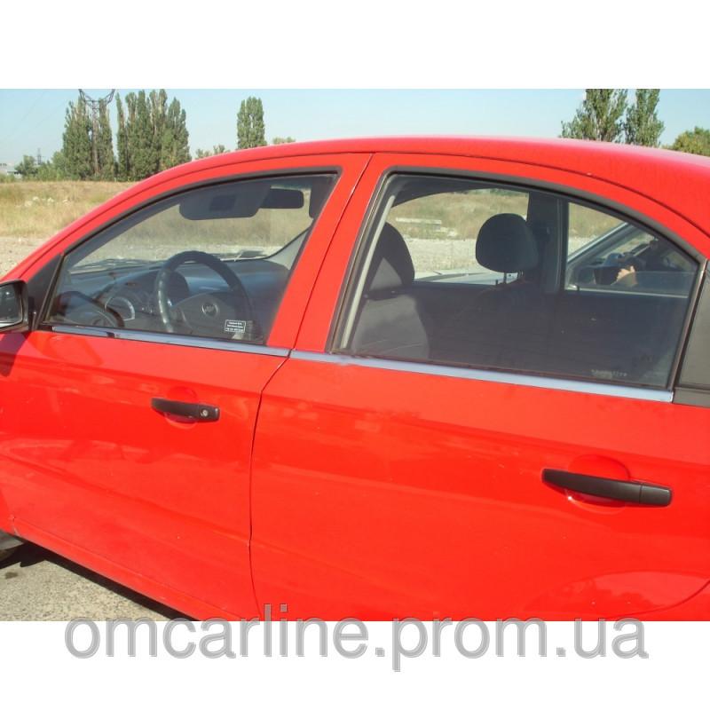 Купити Молдинг скла (оконтовка вікна) Chevrolet Lacetti (6 шт)Chevrolet Lacetti (шевроле лачетти), нерж.
