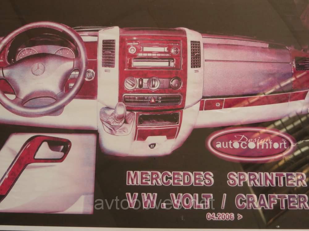 Купити Декоративні накладки салону. Mercedes sprinter 906 (мерседес спринтер 906)