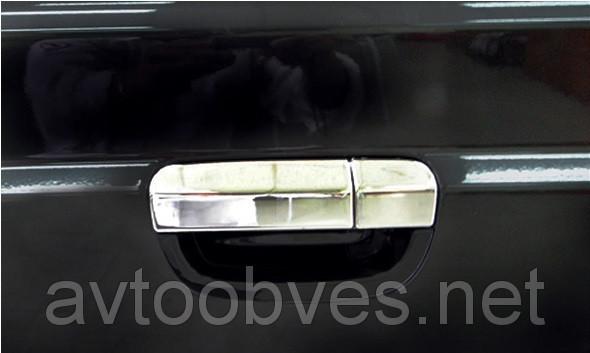 Купить Накладка на ручку двери багажника Mercedes Vito 639 (мерседес вито 639), нерж.