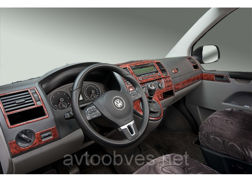 Купити Декоративні накладки салону Volkswagen Т5/T6 (фольксваген т5/т6 (2010>)