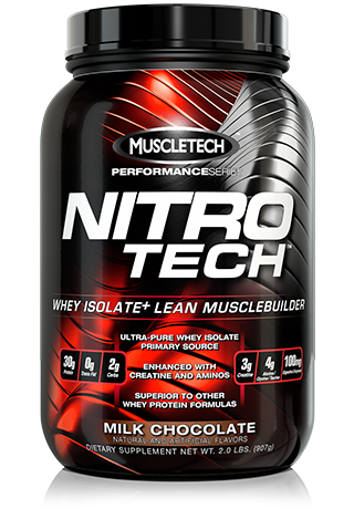 Buy Muscletech® Protein of Nitro Tech Performance Series, 0,9 kg