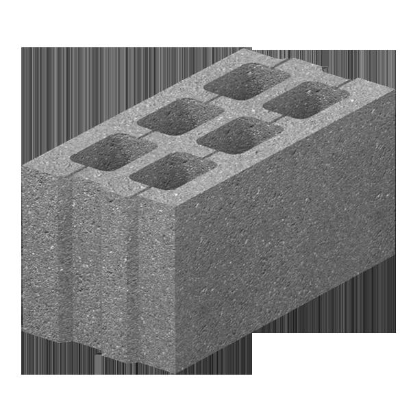 блоки бетонные пустотелые 400х200х200 цена