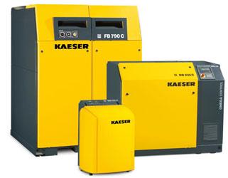 Роторные воздуходувки KAESER серии COMPACT