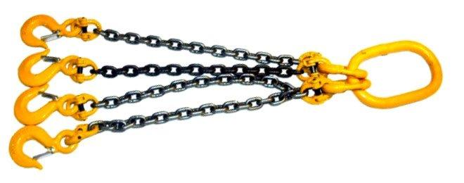 Купить Цепные стропы 26х96 мм, грузоподъемность 21,2 - 40,0 тн, тип: 1СЦ, 2СЦ, 4СЦ, УСЦ