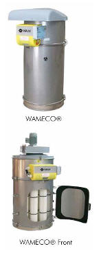 Buy WAMECO® filters are used on installations of the їventing system ї or on the removing dust bunkers