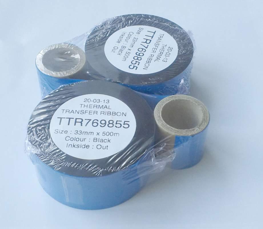Купить Термотрансферный риббон для принтеров TTO (33мм x 500м, OUT)