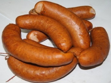Колбаски Куриные п/к  1 сорт
