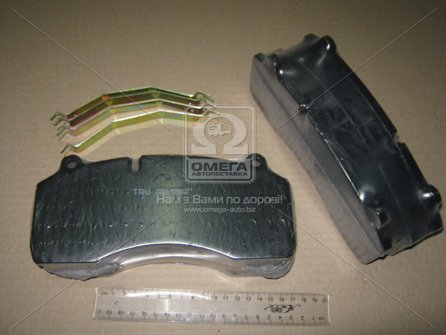 Buy Brake shoe KAMAZ-4308 disk brakes (to-kt on an axis, 4 pieces) (Tribo Rail UA)