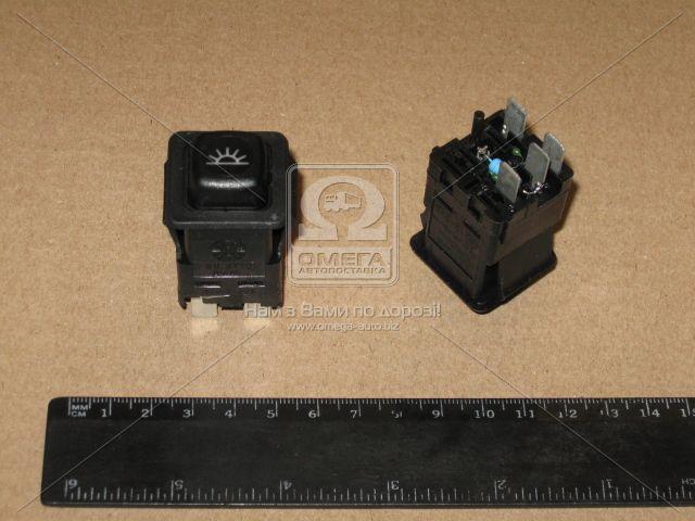 Купить Выключатель (кнопка) освещения салона 12-24В (Автоарматура)