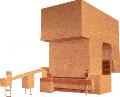 Купить Агрегаты окончательной расстойки марки Т1-ХР2-З для укладки тестовых заготовок круглого подового хлеба массой 0,7-1,0 кг в специальные люльки, их окончательной расстойки и пересадки на под тоннельной печи