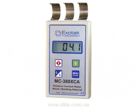 Профессиональный влагомер древесины и стройматериалов MC-380XCA