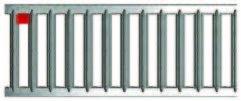Решетка с нержавеющей стали сатинорованной длина 1000мм Германия Асо self euroline  Артикул 10323