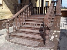 Buy Facing by a stone of steps