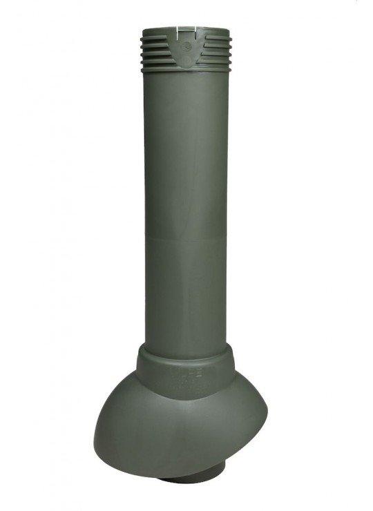 Дефлектор для фановой трубы скатной кровли зеленного цвета Арт 741126, 74126