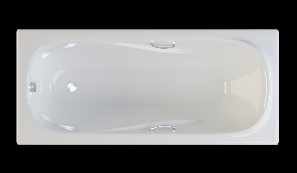 Acrylic bathtub with handles 170kh75sm carlo tm riva pool in Kiev ...
