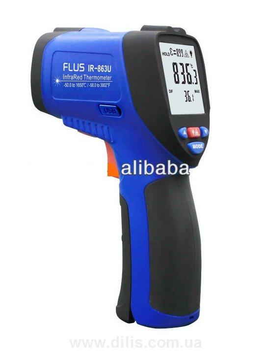 Купить Пирометр (-50…+1650 С) - FLUS IR-863U с подключением к ПК