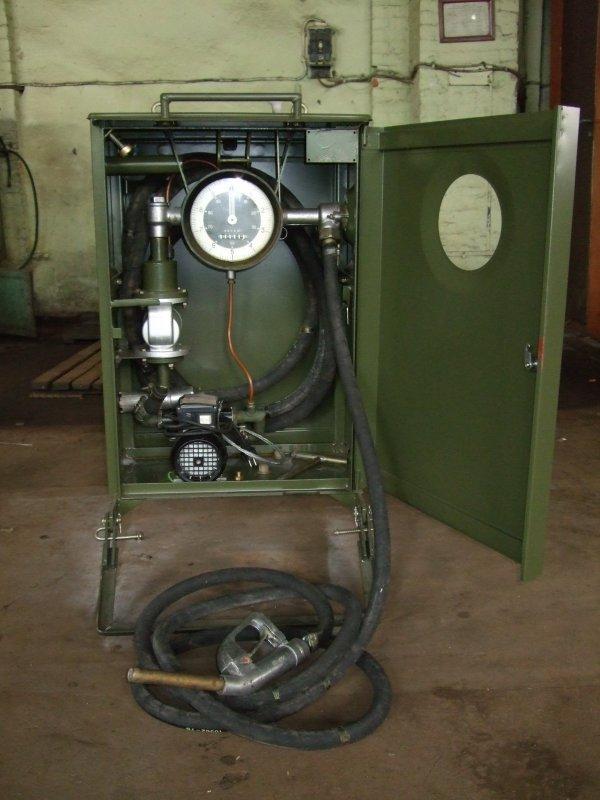 Колонки топливораздаточные переносные с ручным приводом КР-40