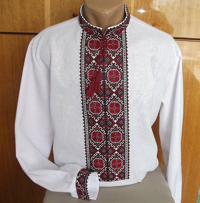 Українська вишиванка чоловіча довгий рукав купити в Київ 7885538e5e815