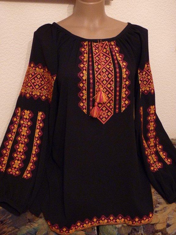 Жіноча вишиванка на шифоні купити в Київ 0d21e7501e65d