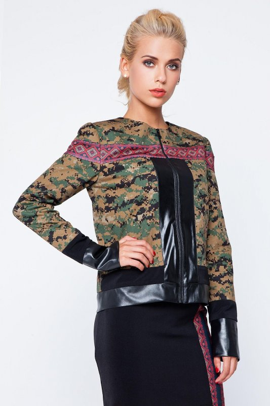 Buy Stylish Ukrainian windbreaker with an embroidery
