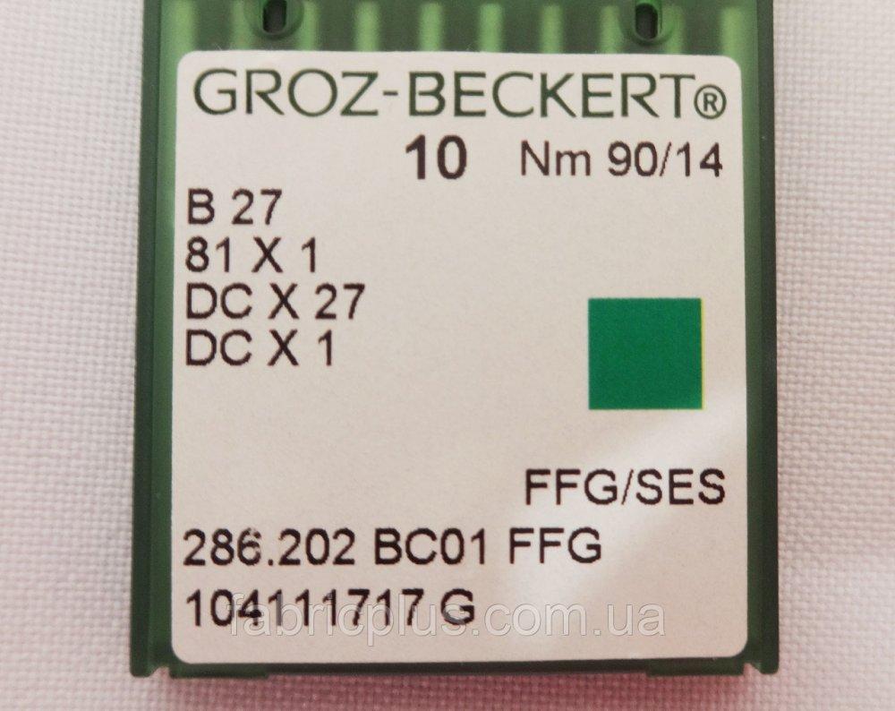 Купити Голки GROZ-BECKERT DC 27 оверлоч. до пром. маш. № 90 4321