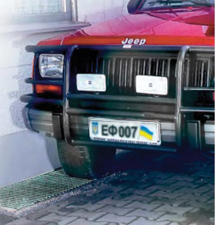 Купить Прессованный решётчатый настил для проезда легкового и грузового автотранспорта.