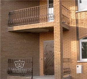 Купить Кованные балконы, ограждения для балконов, решетки для окон кованные с Житомира под заказ