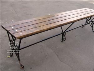 Купить Кованые лавочки под заказ, кованая садовая мебель и мебель для дома, Украина