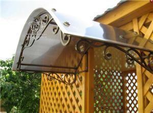 Купить Навесы кованые с художественным рисунком, беседки кованые в Житомире, мебель для дома кованная по доступным ценам в Украине