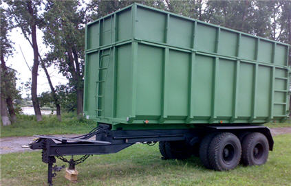 Buy A double-axle trailer TM-47