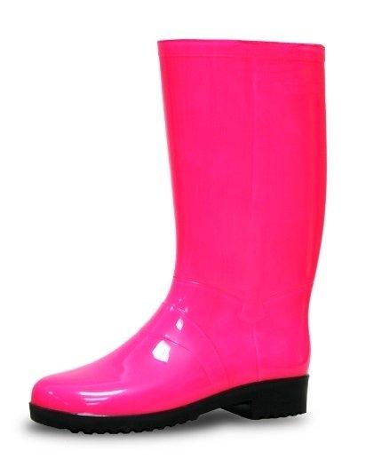 Жіночі гумові чоботи Litma NEON Рожеві купити в Київ 034366e128c51