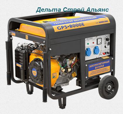 Купить Генератор Sadko GPS-8000E