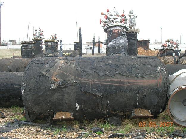 Ємність газова (газгольдер), обсягом 4,2 куб. м. для пропан-бутану