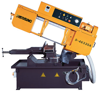 The universal economic lentochnopilny S-4633SA machine for cutting at an angle. Available in a warehouse in Kiev!