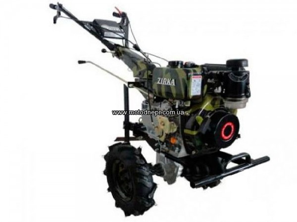 Мотоблок дизельный Zirka LX 2093D с электростартером