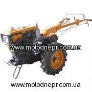 Мотоблок дизельный Кентавр 1081Д/электростартер/ комплект почвофреза и плуг
