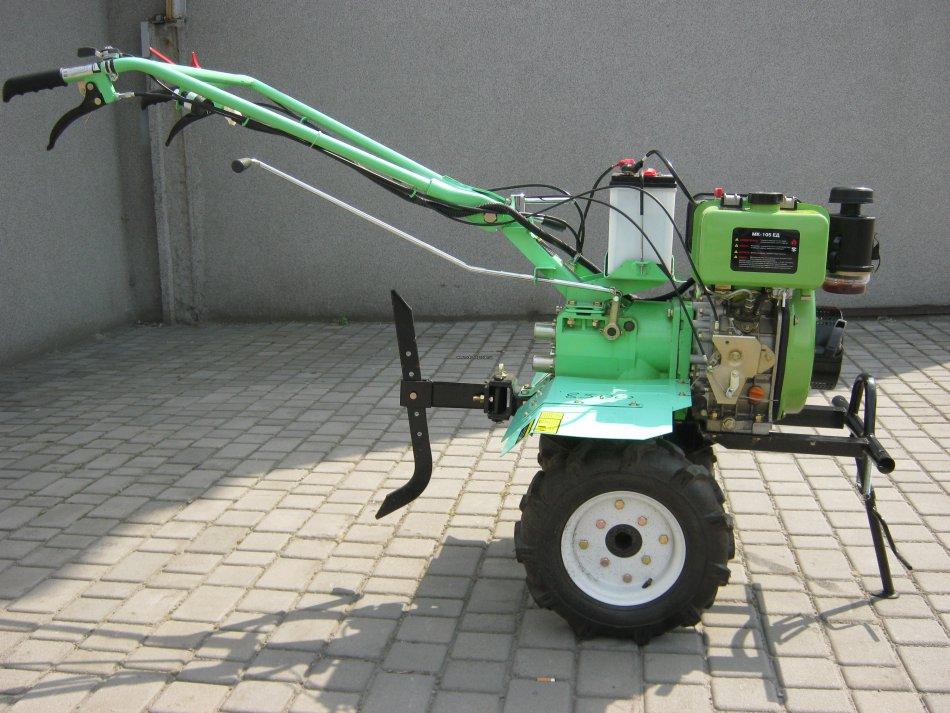 Мотоблок Бригадир МК-105ЭД с электростартером