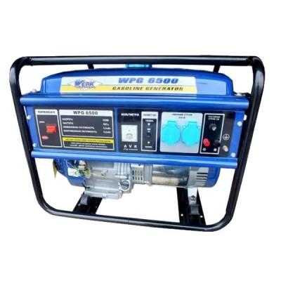 Бензогенератор WERK WPG6500 5,0/5,5 кВт.