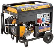 Генератор бензиновый SADKO GPS-6500EF 5,0/5,5 кВт эл. стартер