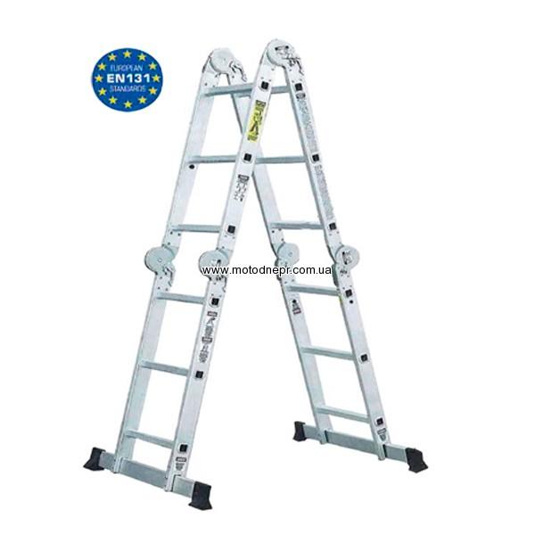 Шарнирная лестница Werk LC2416 (4*4)