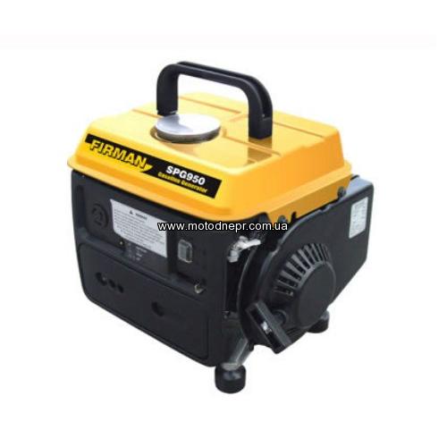 Бензиновый генератор FIRMAN SPG 950 0,65/0,78 кВт