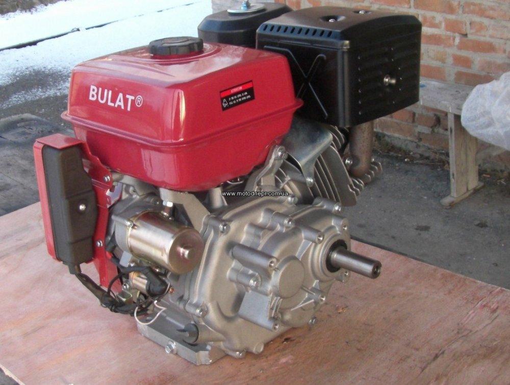 Двигатель бензиновый BULAT BТ190FЕ-L (редуктор 1/2,шпонка 25мм, эл/старт),16л.с.
