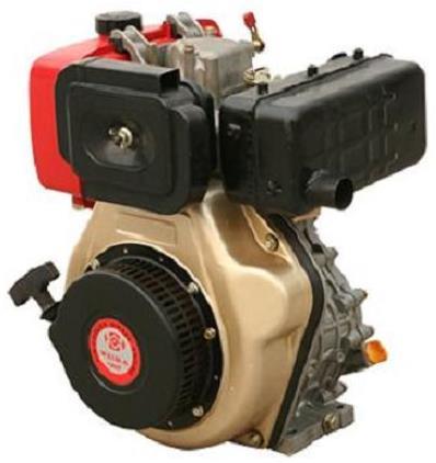Двигатель дизельный WEIMA WM178F (есть вал ШЛИЦЫ, ШПОНКА), дизель 6.0л.с.