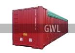 Купить Контейнер 40 футов опентоп, контейнер 40футов открытый верх, опентоп контейнер, 40OT, 40футовый контейнер открытый верх, опентоп 40ка