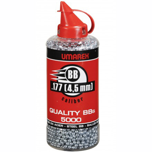 Шарики стальные никелированные Umarex Quality BBs, 5000 шт